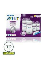 Avent Natural Newborn Bottle Starter Set - AddPharma ...