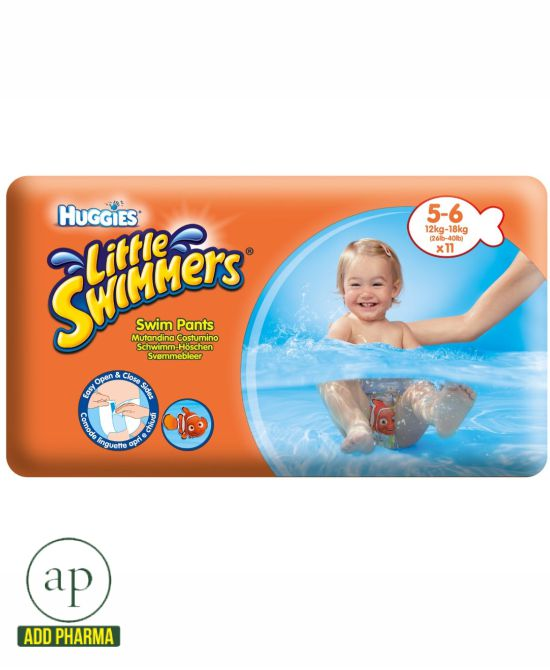 Huggies Little Swimmers size 5-6 - Pack of 11