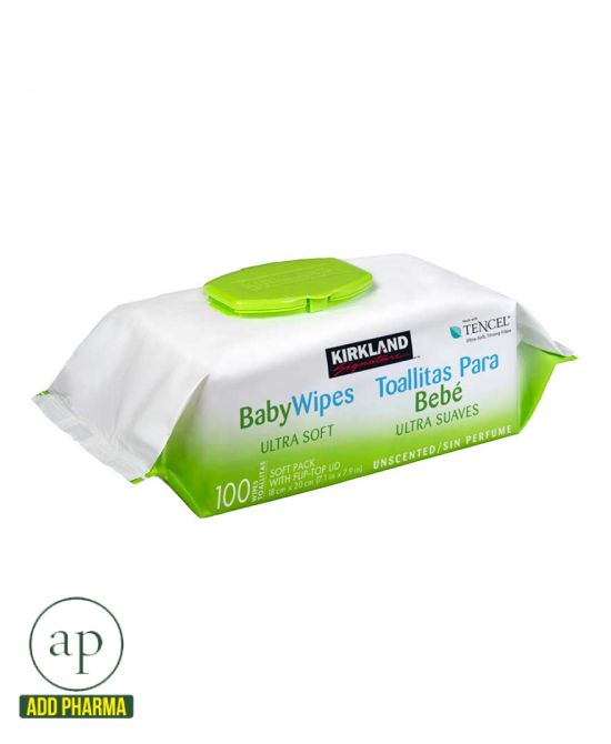 Kirkland Signature Baby Wipes Ultra Soft - 100 wipes