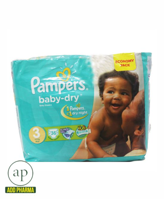 Pampers Baby-Dry Value Pack Size 3 - 36 count