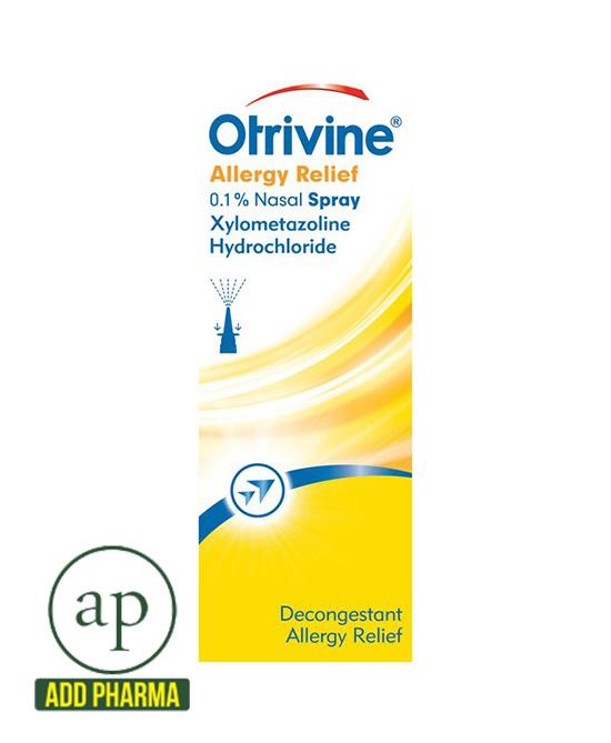 Otrivine Allergy Relief 0.1% Nasal Spray - 10ml
