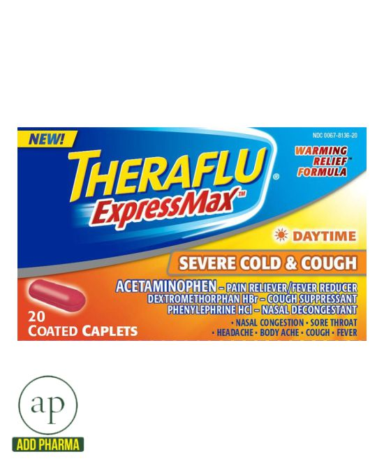 Theraflu ExpressMax Daytime - 20 Caplets