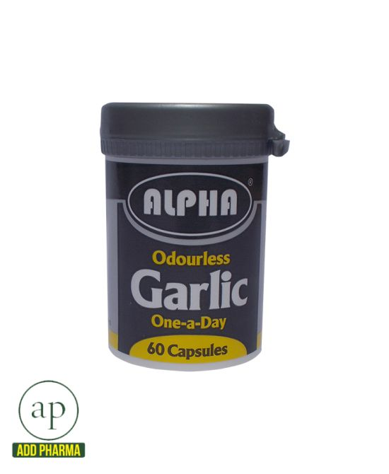 Alpha Garlic - 60 Capsules