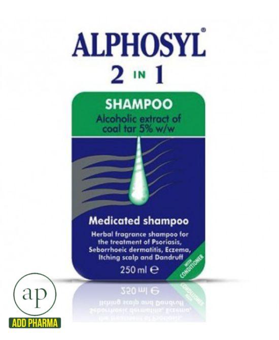 Alphosyl 2 In 1 Medicated Shampoo - 250ml - AddPharma ...
