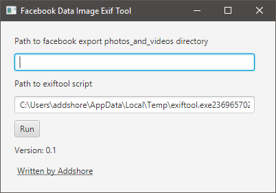 Add Exif data back to Facebook images - 0 1 - Addshore