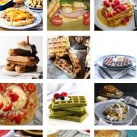 Recipe Roundup: 12 Waffles