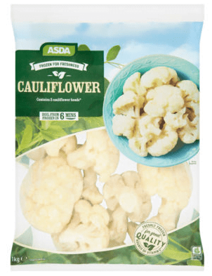 Asda Cauliflower Florets