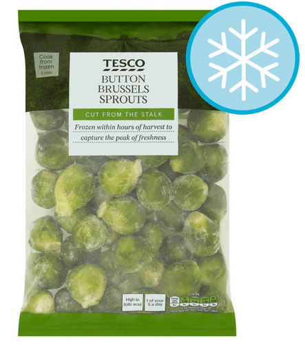 Tesco Brussels Sprouts