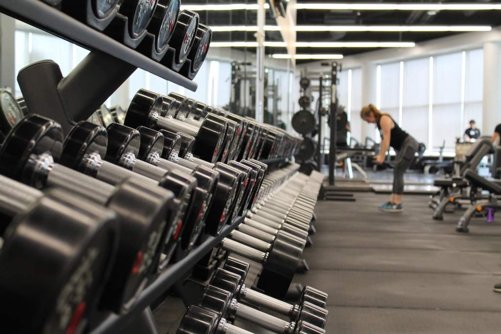 weight lifting racks
