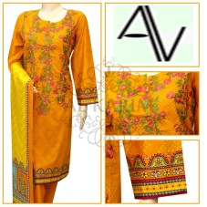 Product Code: D#232 Fabric: LAWN Price: 5195 PKR Sizes: Small- Medium- Large DETAILS: 3 PIECE PRINTED AND EMBROIDERED LAWN SUIT. Note : Embroidery shirts have been styled in the image for photography and illustrative purposes. The standard style comes as a long sleeved kameez & dupatta. and Shalwar