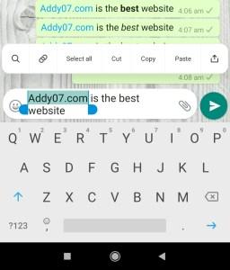 Whatsapp Font Text Tips Tricks 5