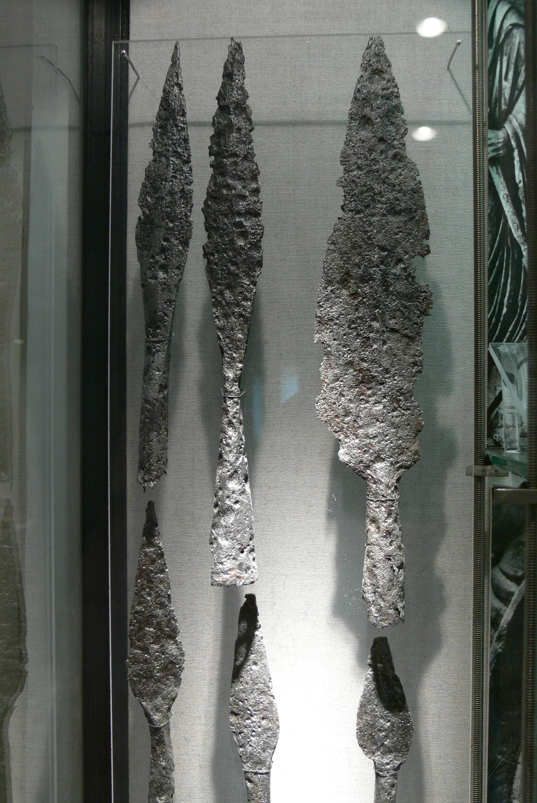 Ancient Roman Spears