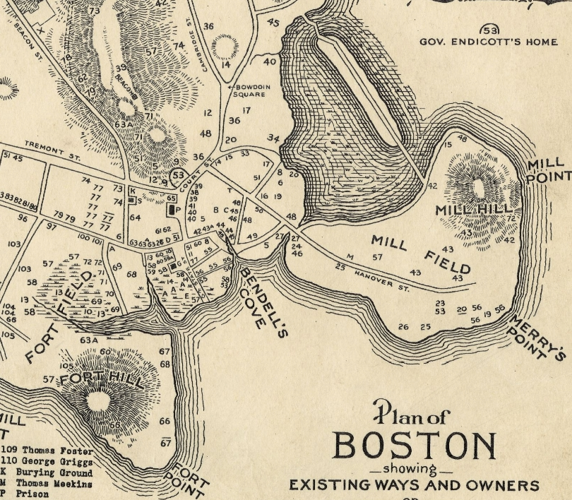 Bendell's Cove & Vicinity (1635)
