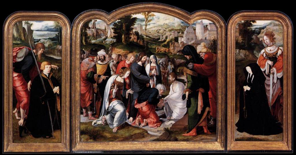 Lazarus' Triptych