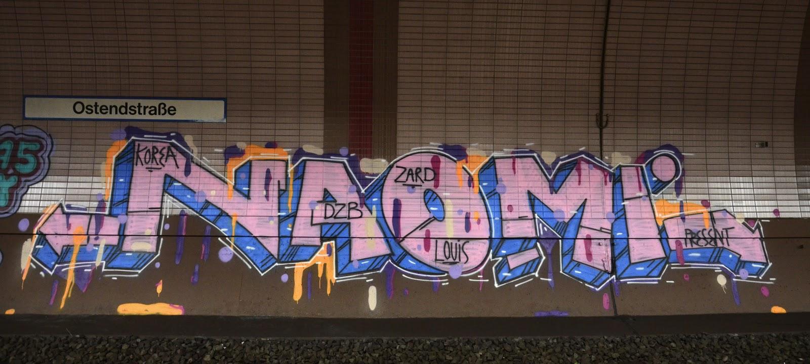 Graffiti Naomi