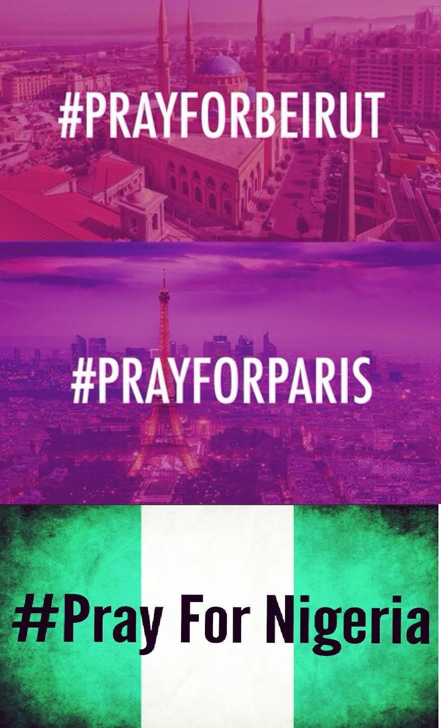 #PrayFor ...