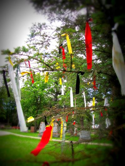 Little Britain United Church (Prayer Flags)