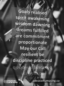 Discipline Practiced