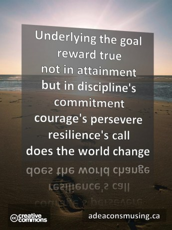 Resilience's Call