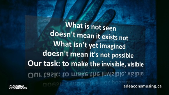 Invisible, Visible