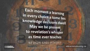 Time Teaches