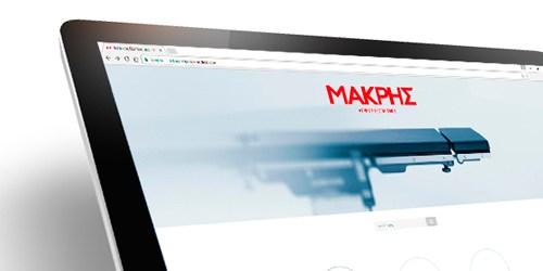 Website Design & Development for MakrisMedical • adeadpixel