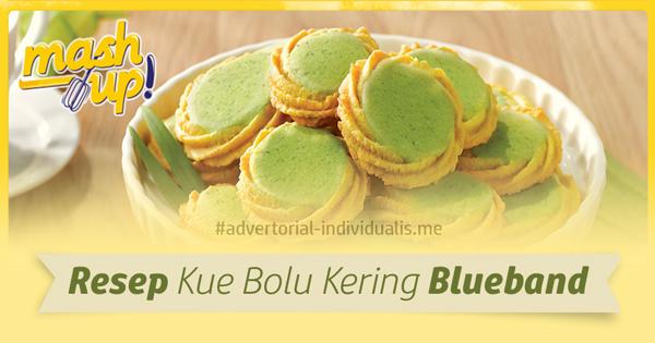 Resep Kue Bolu Kering Blueband