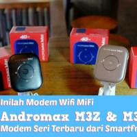 Apapun Gadgetnya Kini Bisa di #4GinAja  Pakai Smartfren MiFi Andromax M3Z & M3Y
