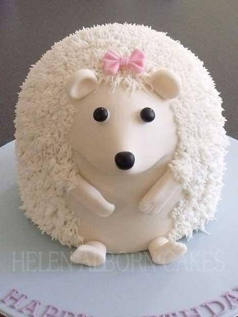 kue ulang tahun bertemakan hewan landak