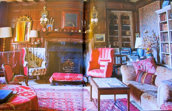 the quintessential english room? honed by generations of family life