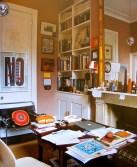 a cosy desk spcae