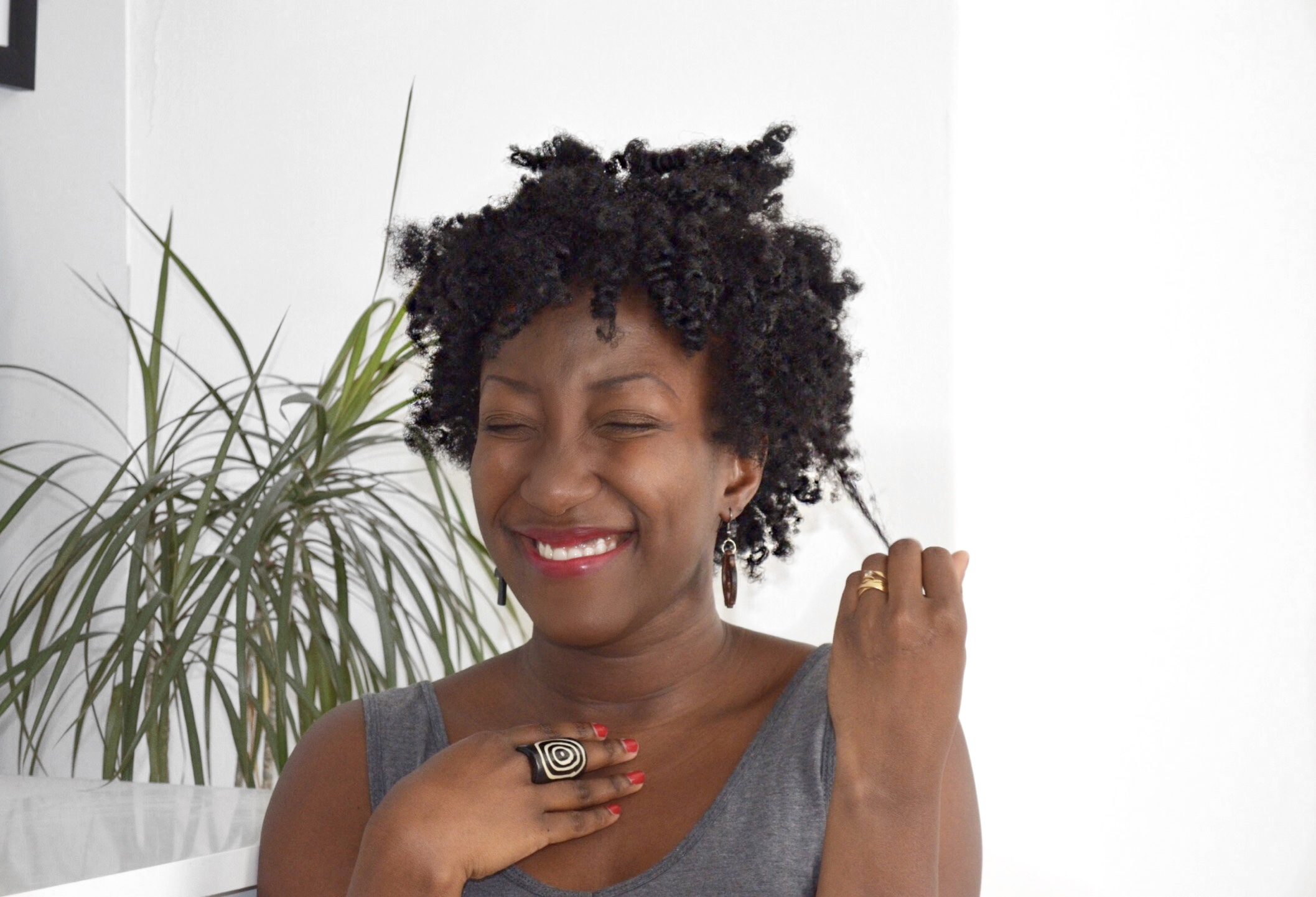 Bantu Knots Out On Thin Fine Natural Hair 4c Adede