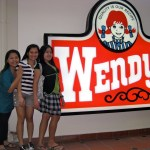 Wendy's at Lau Pa Sat