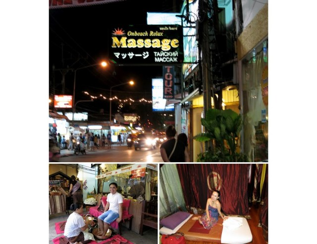 Phuket Thailand travel massage