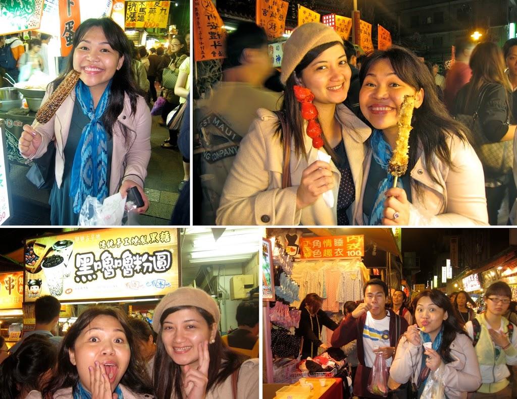 Taiwan Shihlin night market