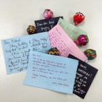 30 Lollipops & Love Notes for Dred's 30th Birthday