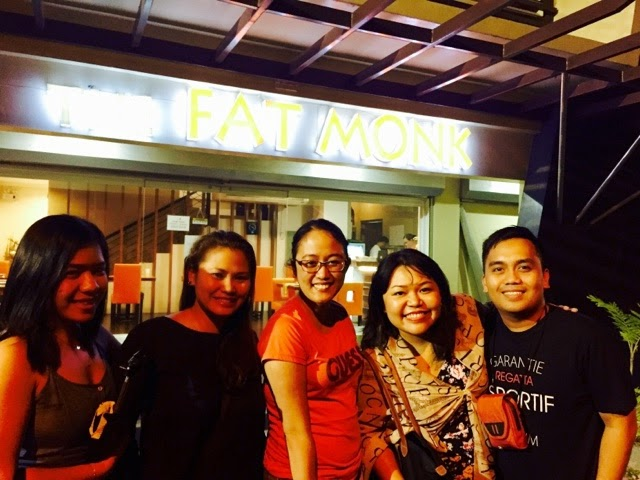 Reunion at The Fat Monk