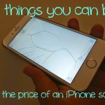 The Price of a Cracked Iphone Screen