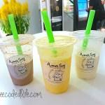 AmaSoy Hokkaido Milk @ Ion Orchard {Foodee}