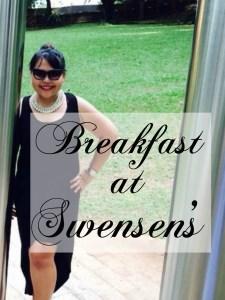 Breakfast at Swensen's