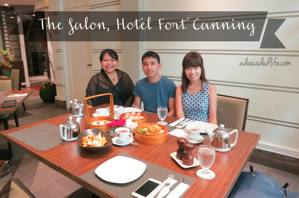 High tea the salon hotel fort canning