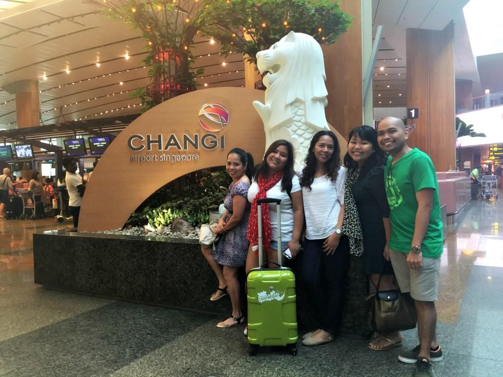 Changi airport merlion