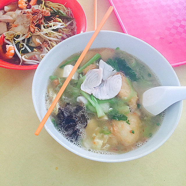 Bedok 83 fish soup