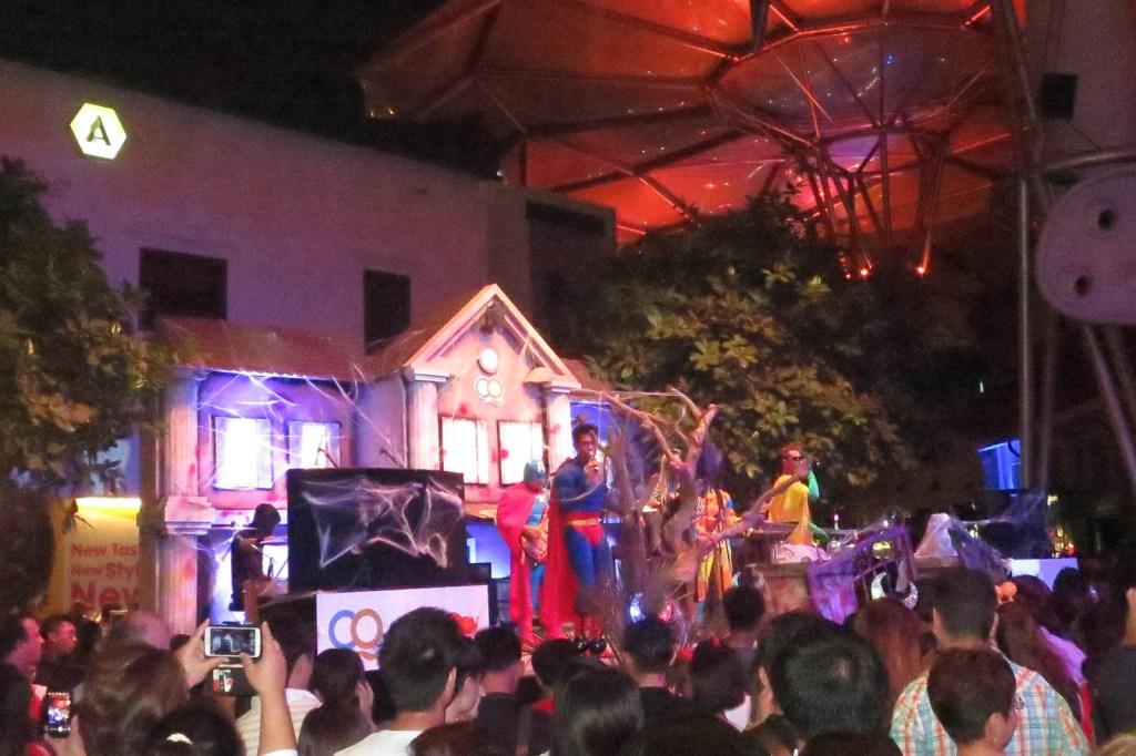 Halloween Clarke Quay Concert