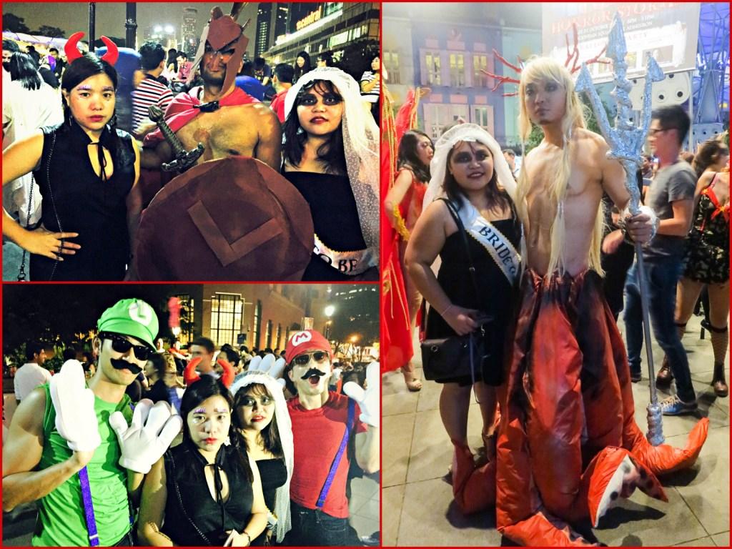 Halloween Clarke Quay Costumes 1