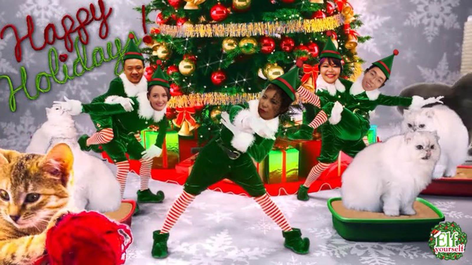 christmas pranks 1 - Christmas Elf Dance App