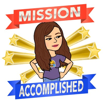 Bitmoji mission accomplished