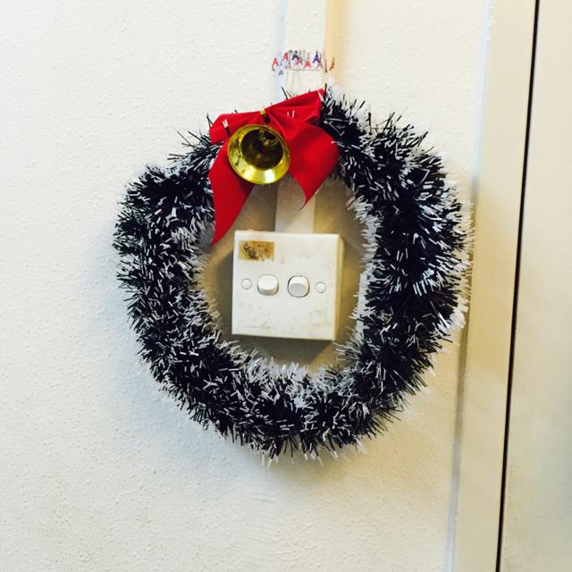 Daiso wreath