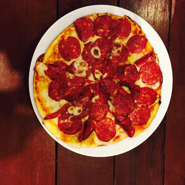Pastamania pizza