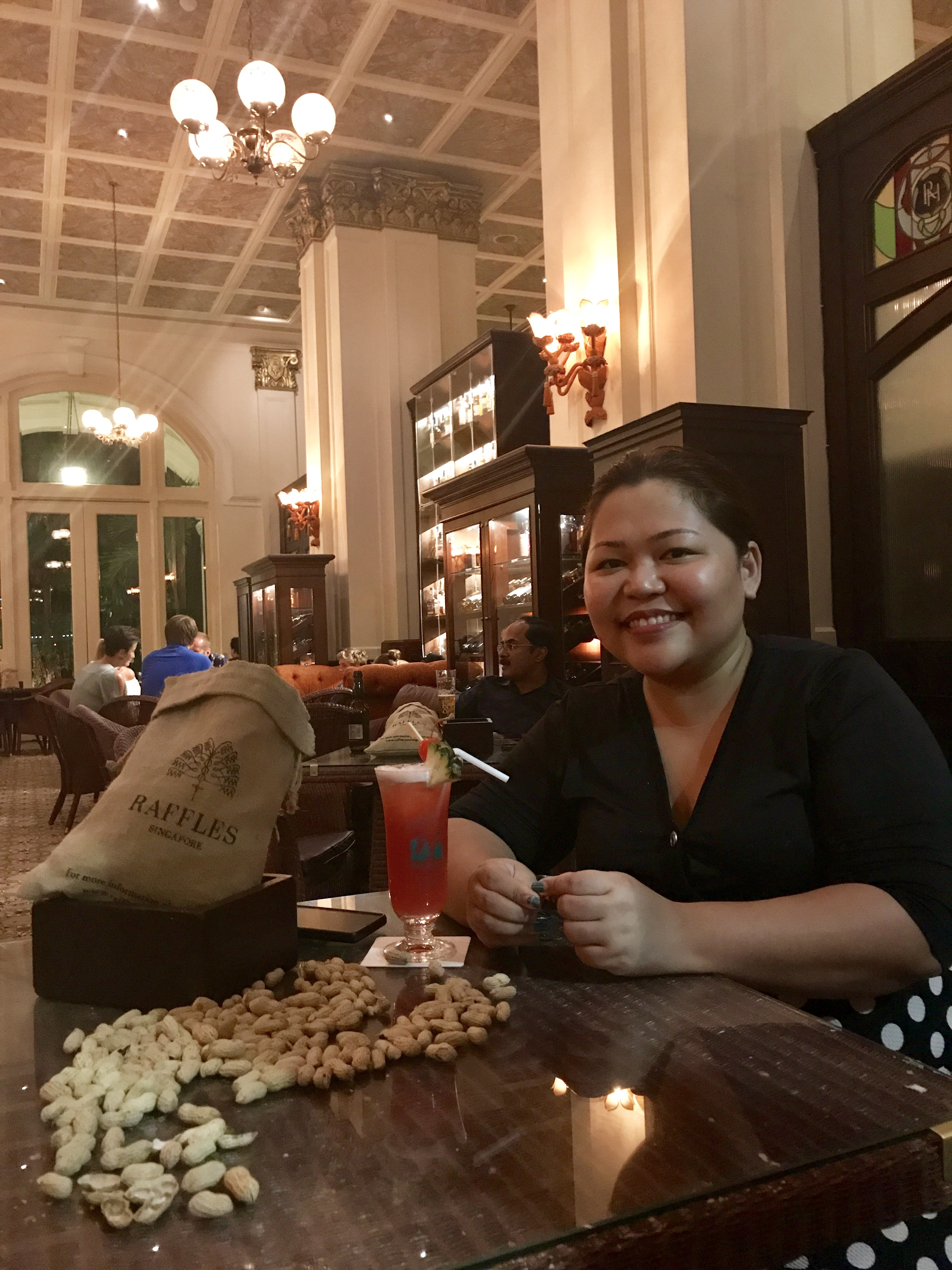 Singapore Sling Raffles Long Bar A Deecoded Life